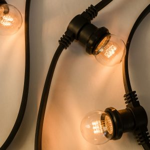 24 Volt Commercial Connect Festoon (50cm spacing)